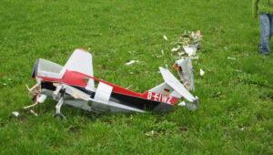 Fantrainer 1:5 Crash in Frauenfeld