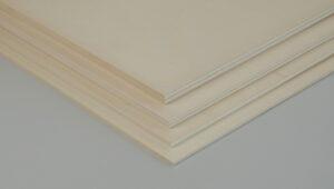 Pappelsperrholz 280 x 190 x 4 mm
