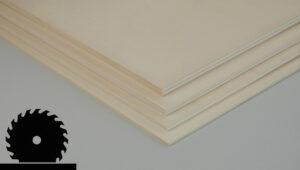 Pappelsperrholz Masszuschnitte