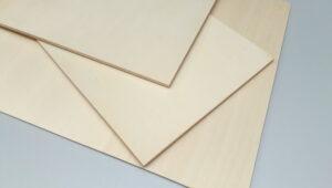 Pappelsperrholz 190 x 190 x 4 mm